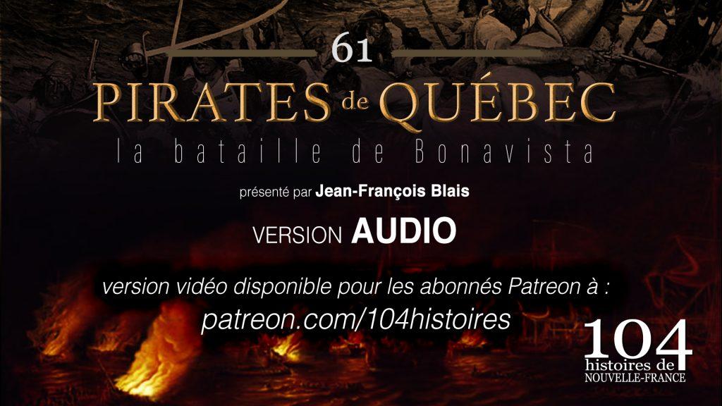 Pirates de Québec - 104 histoires de Nouvelle-France