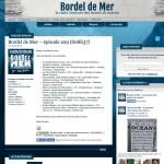 Bordel de Mer - Site web réalisé par Jean-François Blais