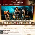 Site web des Boucaniers de Saint-Malo réalisé par Jean-François Blais
