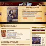 Magazine Oriflamme - Site web créé par Jean-François Blais